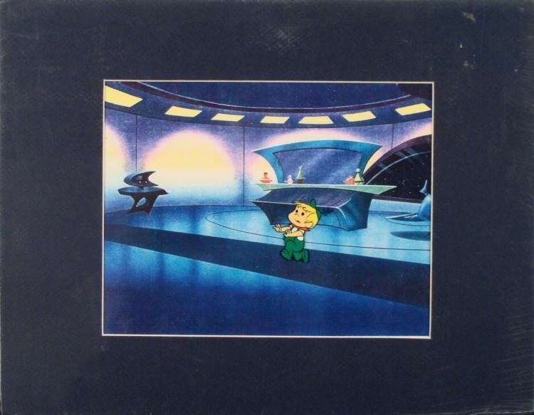 The Jetsons Original Animation Production Cel -Elroy