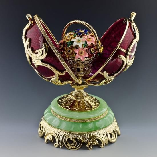 Spring Flowers Faberge Egg