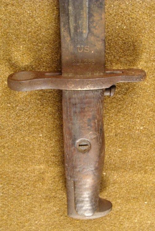 MODEL 1905 U.S. BAYONET-STAMPED SPRINGFIELD ARMORY 1907