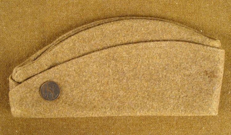 WWI U.S. WOOL OVERSEAS CAP FOR DOUGHBOY