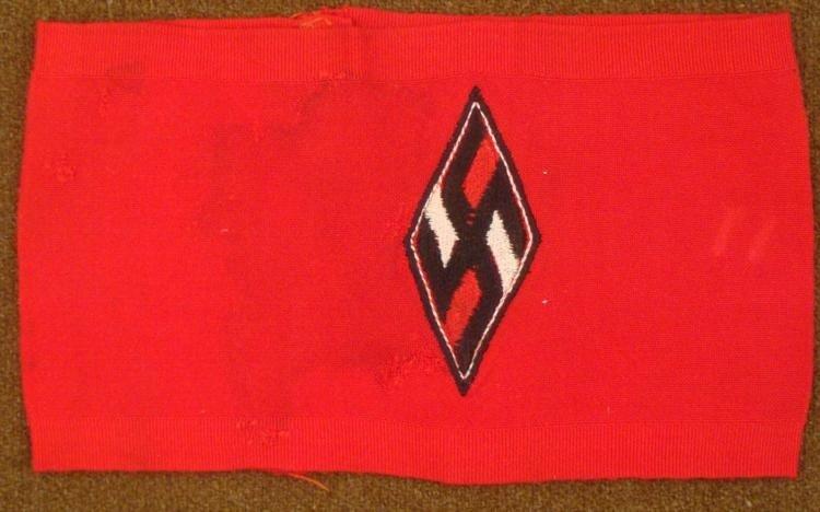 NAZI HITLER YOUTH ARMBAND REPRODUCTION