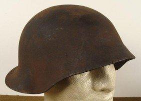 M1918 SWISS WWII COMBAT HELMET-ORIGINAL, SHELL