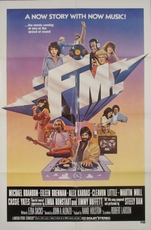 FM Original 1 Sh Movie Poster Rock & Roll Radio Film