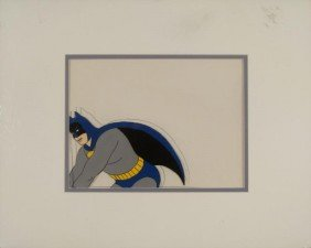 Batman Original Production Cel & Drawing