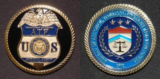 US ATF Collectors Coin