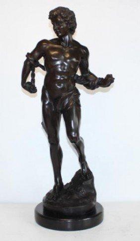 Marvelous Bronze Sculpture Jason and the Golden Flee