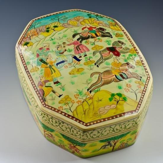 Amazing Handpainted Jewelry Box