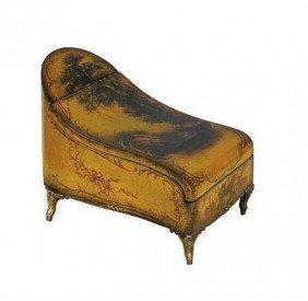 One of a Kind Elegant Victorian Sleigh Wooden Trinket C