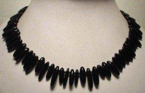 Superior Black Onyx Necklace MWF1733