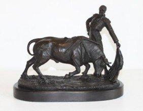 Magnificent Bronze Sculpture Matador
