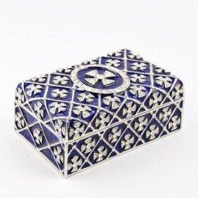 Faberge Trinket Jewelry Box