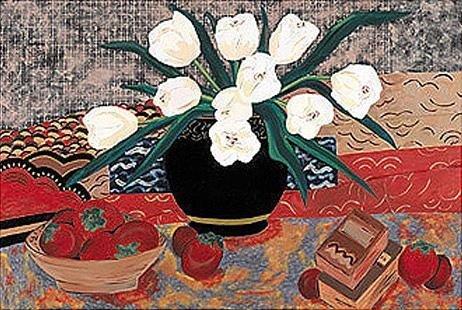 Vase by Roberta Coleman 30x40 Original Acrylic