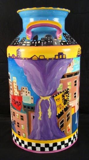 Linnea Pergola Original Milk Can 42nd Street New York - 4