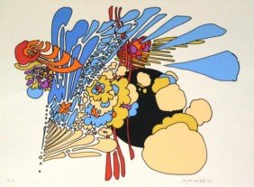 Enigma 22 By Peter Max S/N 22x30