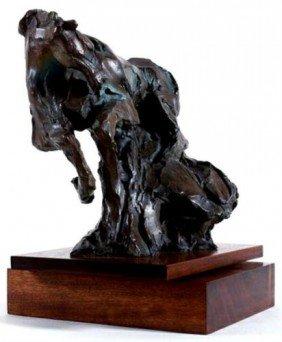Rare GENESIS Jean Richardson Signed Bronze Horse Art