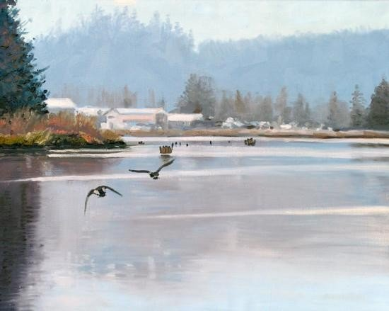 Clatsop Country by Gary Melvin 24 x 30 Oil