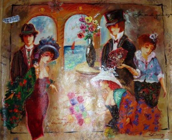 Kovigro_8 21X27 Oil Painting on Canvas