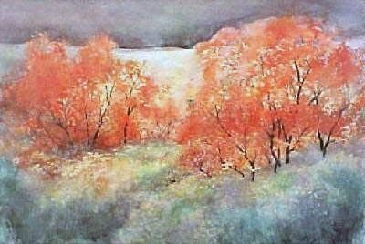 Welch Fall Trees 15 X 22
