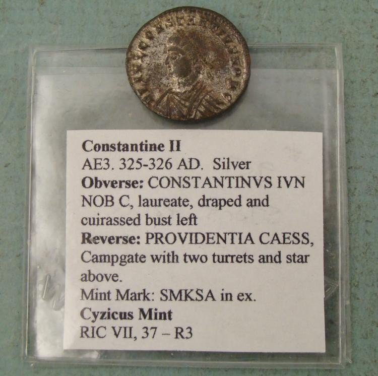 Ancient Roman Coin Constantine II -Nice Condition