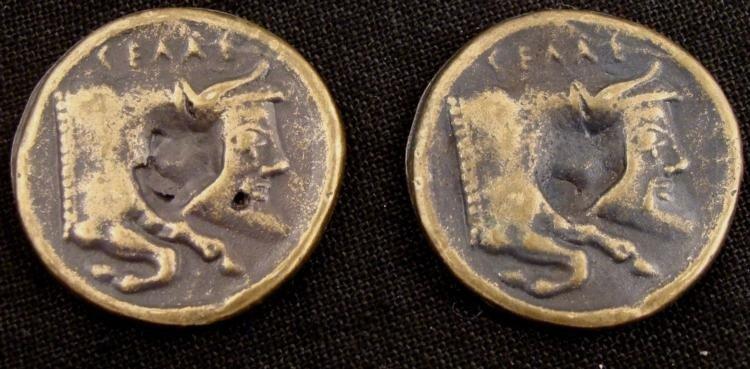 Copies of 2 Old Athenian Agora Coins