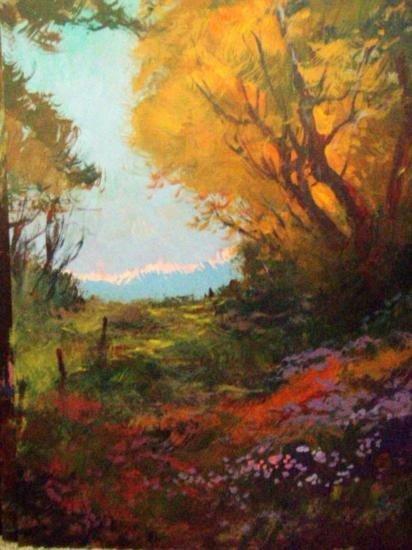 Summer Meadow by Schofield Oil 16x20