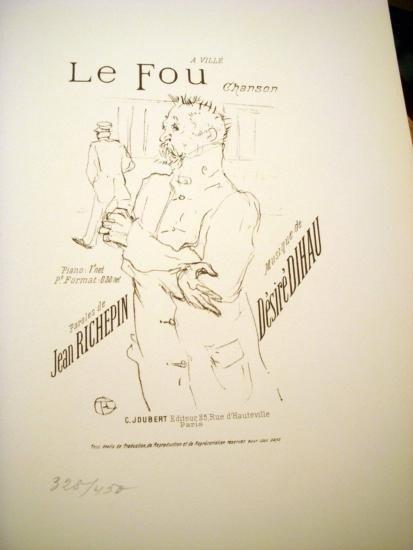 Le Fou by Tolouse Lautrec