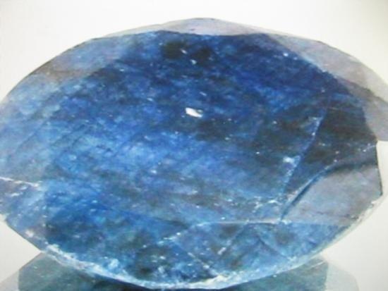 41.10 ctw. Blue African Sapphire