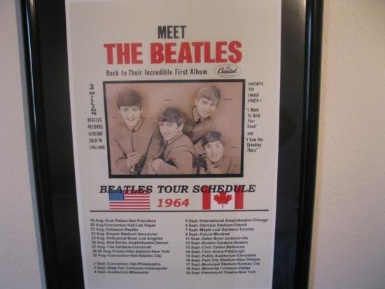 Meet The Beatles USA/Canada 1964 Tour Schedule - 2