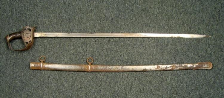 RARE M1889 GERMAN IMPERIAL WURTTEMBURG OFFICER'S SWORD