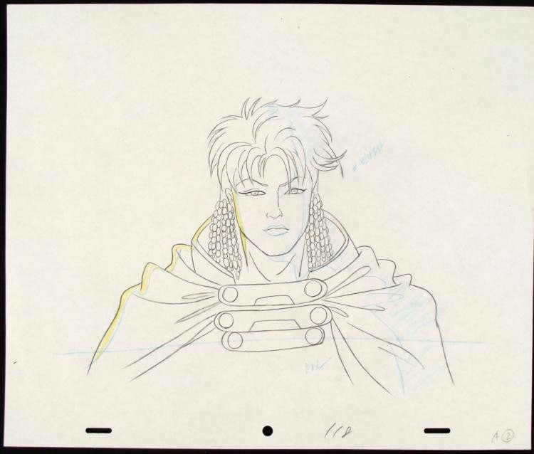 Original X-MEN Drawing Production Art Game Time