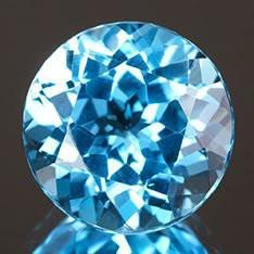 FLAWLESS 7.83ct Round Natural Swiss Blue TopazMWF1816