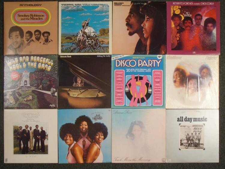 Tweleve Vintage Records- Jazz R&B/Soul Blues Funk Disco