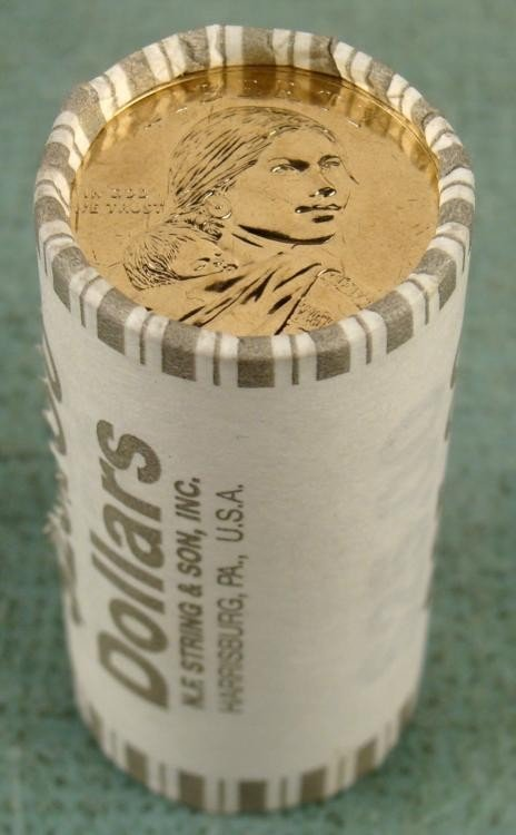 1 Bank Roll 2011-D UNC Sacagawea Dollars