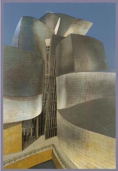 Richard Haas Signed Number Guggenheim Bilbao Art Print