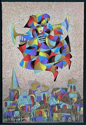 Harlequin Series by Krasnyansky 24x16 S/N