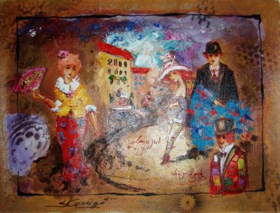 Kovigro 12x16 Oil Painting on Canvas