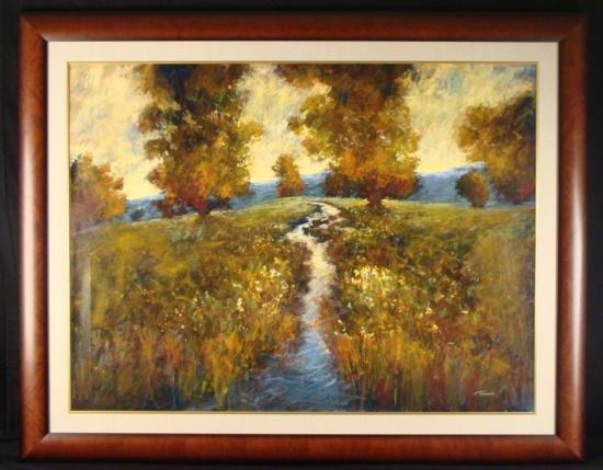 Tienhaara Huge Original Oil Painting Fall Shimmerings