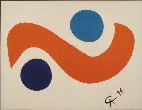 Alexander Calder : Skybird Braniff Airlines Art Print