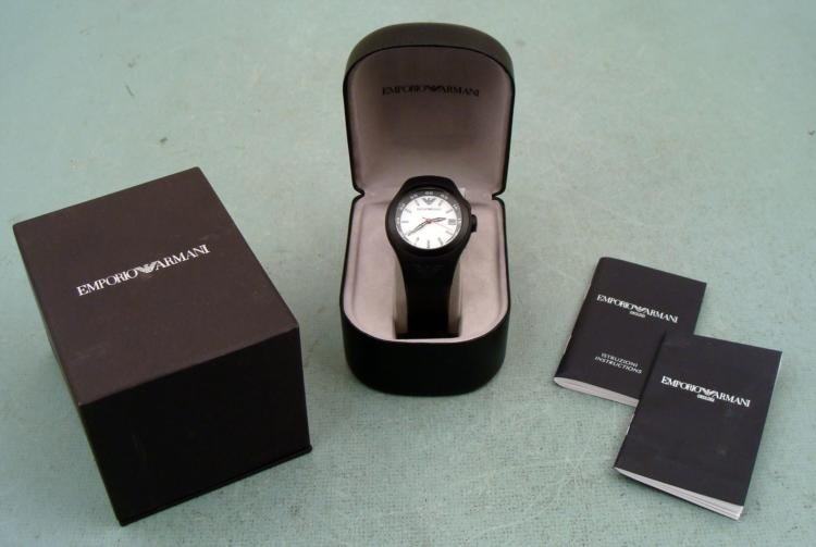 Emporio Armani Sports Mens Watch AR-1103 Mint in Box