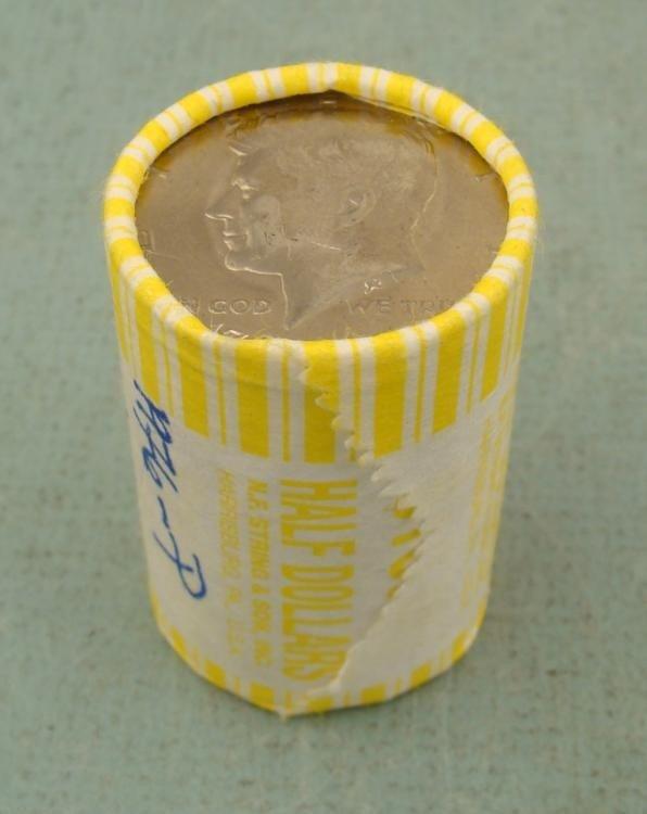 1976-P Bank Roll Kennedy Halves Half Dollars Coins UNC