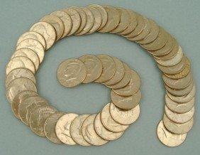 58 Different Kennedy Halves Half Dollars 1971-2003