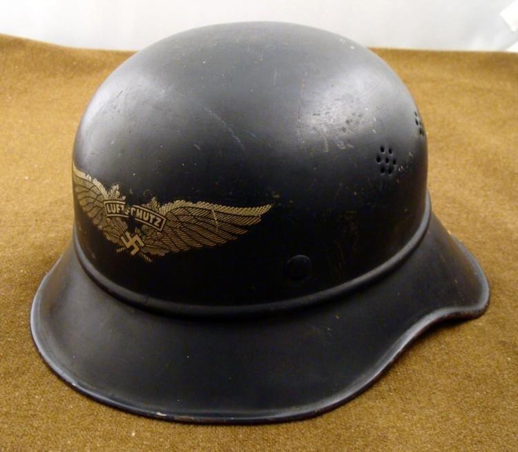WWII NAZI LUFTSCHUTZ ENEMY PLANE SPOTTER HELMET