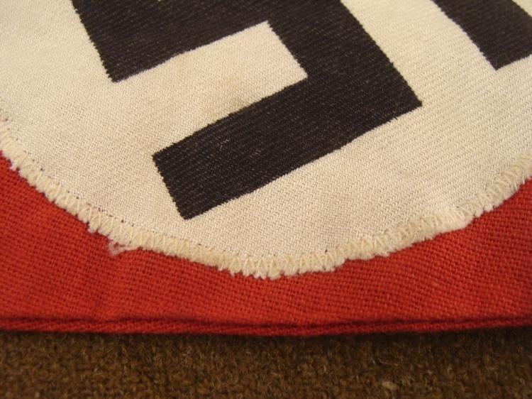 WWII ORIG NAZI PENNANT-MULTI-PIECE-EARLY-NR. MINT - 3