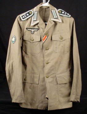 West German Tunic W/ Repro Nazi Insignia, Swastika
