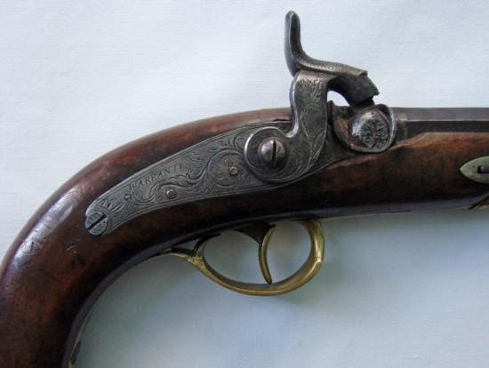 Rare ~cane handle~ percussion revolver of the 1850 peri