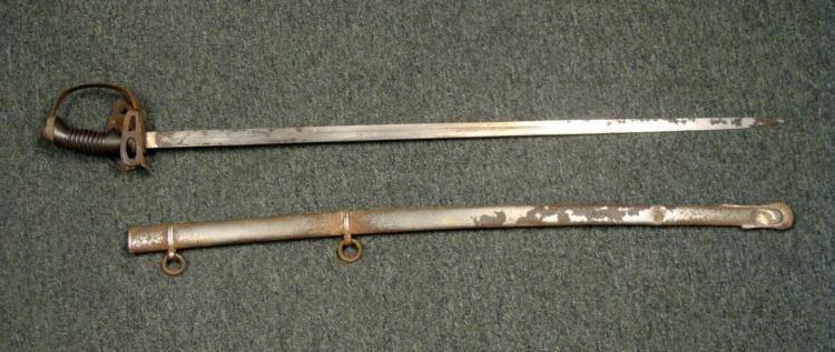 RARE M1889 GERMAN IMPERIAL WURTTEMBURG OFFICER'S SWORD - 3