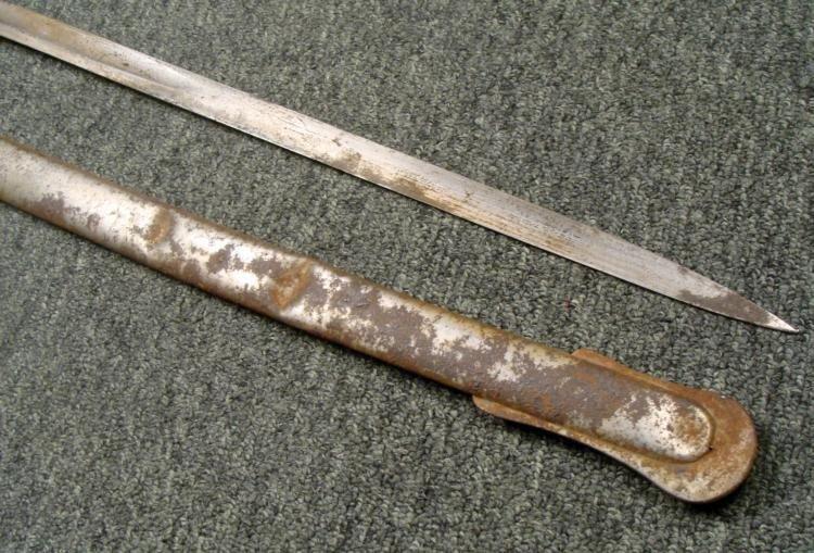 RARE M1889 GERMAN IMPERIAL WURTTEMBURG OFFICER'S SWORD - 4
