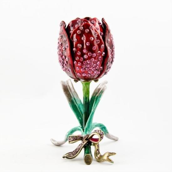 Rose Jewelry Trinket Box
