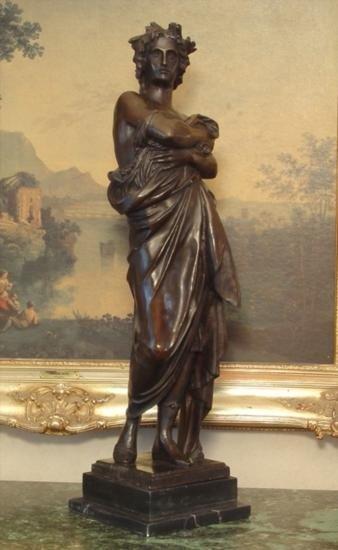 HUGE Bronze Sculpture Julius Caesar