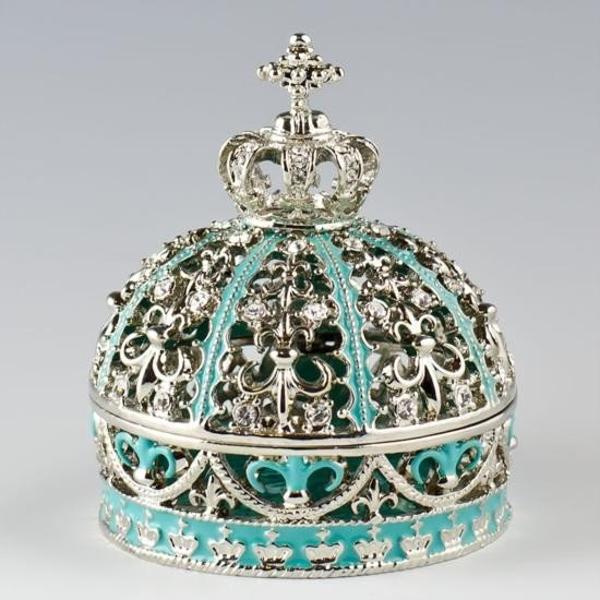 Imperial Crown Faberge Jewelry Box
